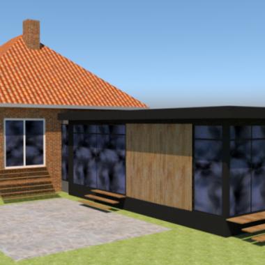 Tilbygning til murermestervilla - Arkinaut arkitekt- og byggerådgivning aps 2