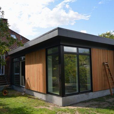 Tilbygning til murermestervilla fra 50'erne - Arkinaut Arkitekt- og byggerådgivning ApS