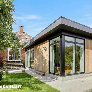 Tilbygning til murermestervilla, moderne stil - Arkinaut Arkitekt- og byggerådgivning ApS 4