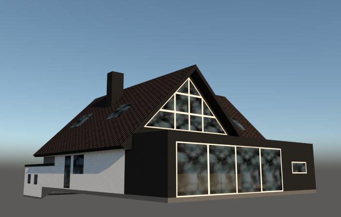 Tilbygning og inddrage altaner til beboelse - Arkinaut ApS