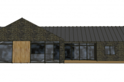 Arkitekttegnet hus - Skitser til ny villa