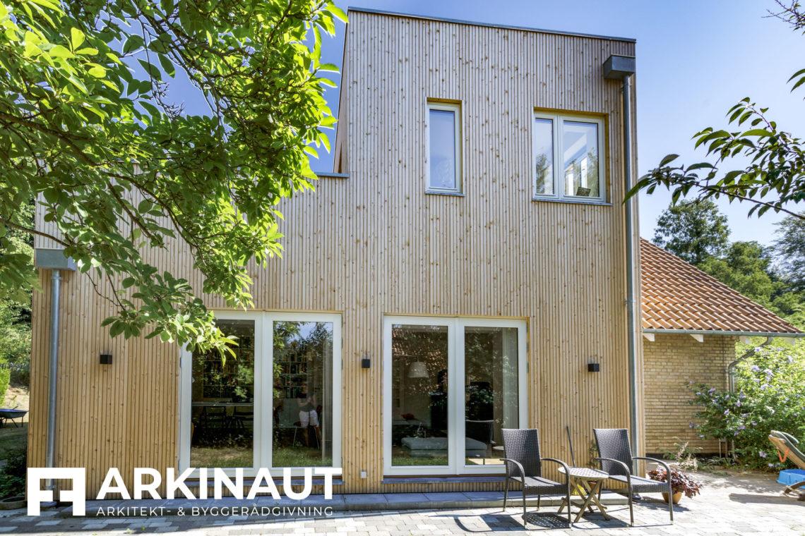 Tilbygning i to etager - Arkinaut Arkitekt- og byggerådgivning ApS 4