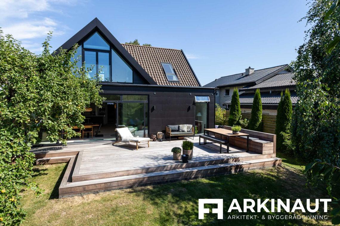 Tilbygning og komplet stilskifte - Arkinaut Arkitekt- og byggerådgivning ApS 2 3