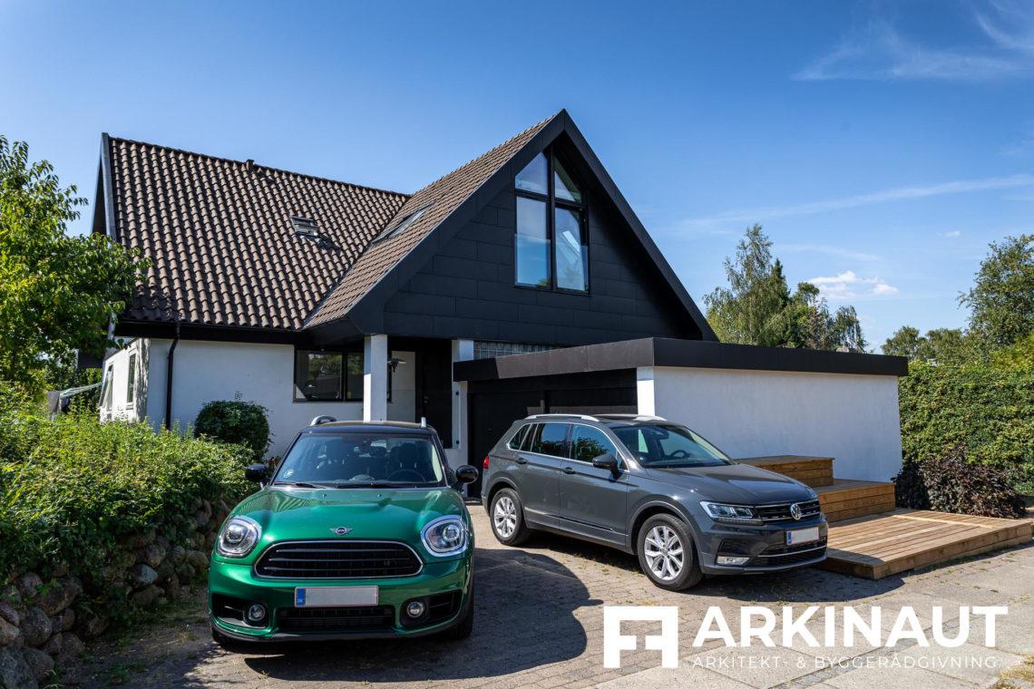 Tilbygning og komplet stilskifte - Arkinaut Arkitekt- og byggerådgivning ApS 2 4