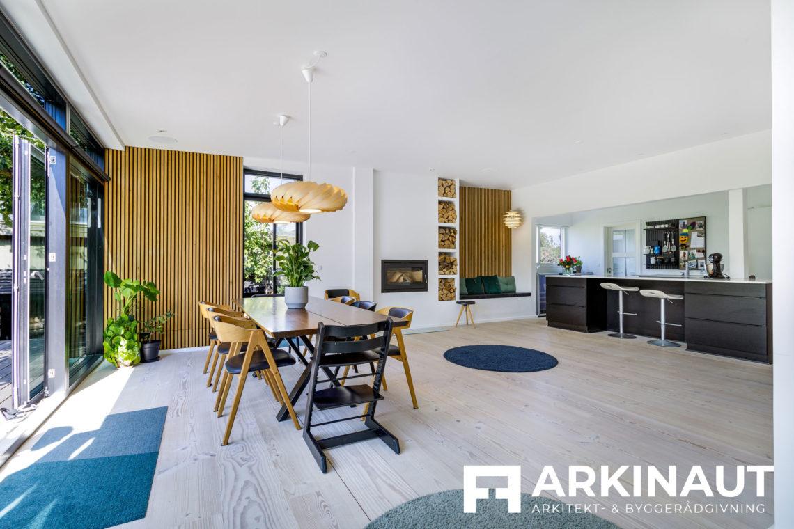 Tilbygning og komplet stilskifte - Arkinaut Arkitekt- og byggerådgivning ApS 2 6