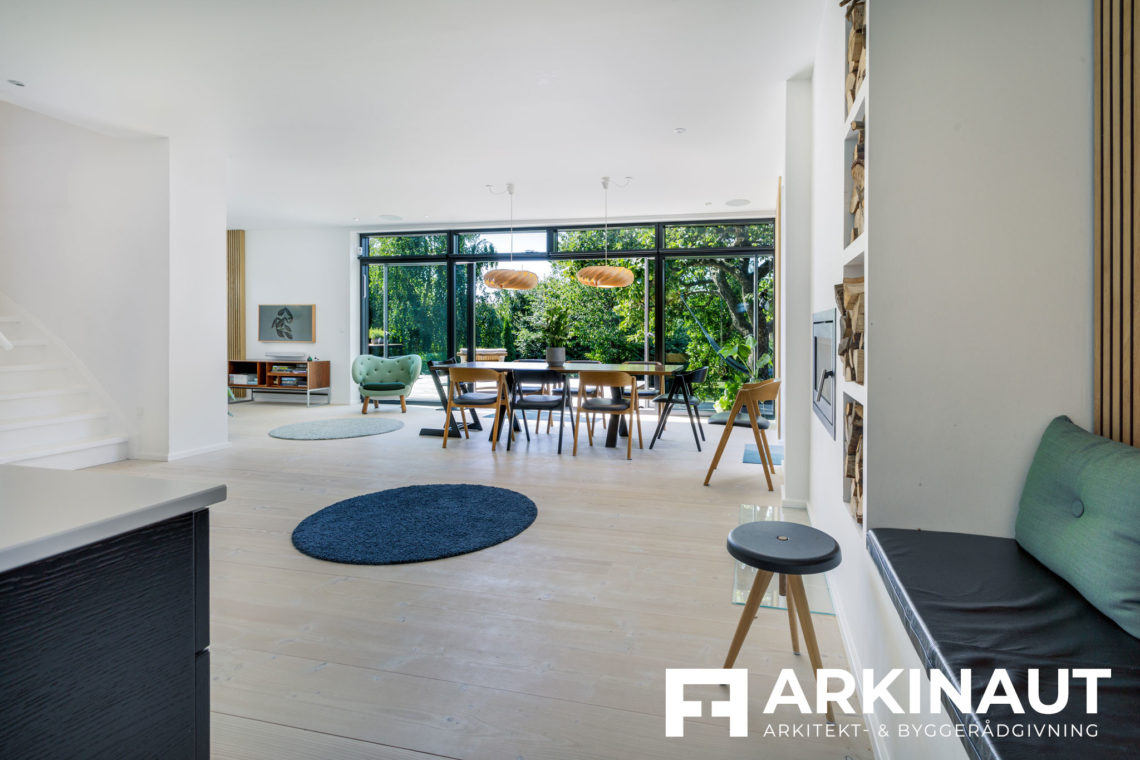 Tilbygning og komplet stilskifte - Arkinaut Arkitekt- og byggerådgivning ApS 2 7