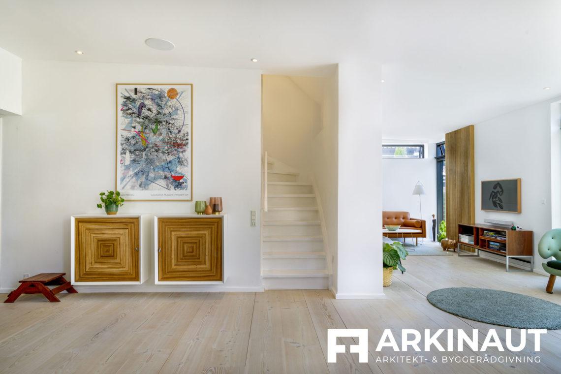 Tilbygning og komplet stilskifte - Arkinaut Arkitekt- og byggerådgivning ApS 2 10