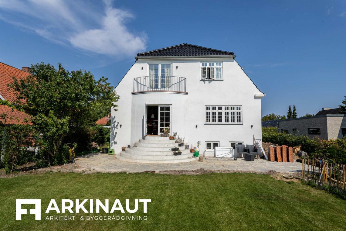 Ny førstesal på bungalow og stilskifte til patriciervilla - Arkinaut Arkitekt- og byggerådgivning ApS 2