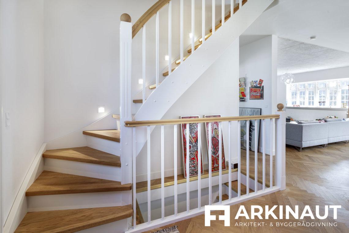 Ny førstesal på bungalow og stilskifte til patriciervilla - Arkinaut Arkitekt- og byggerådgivning ApS 3