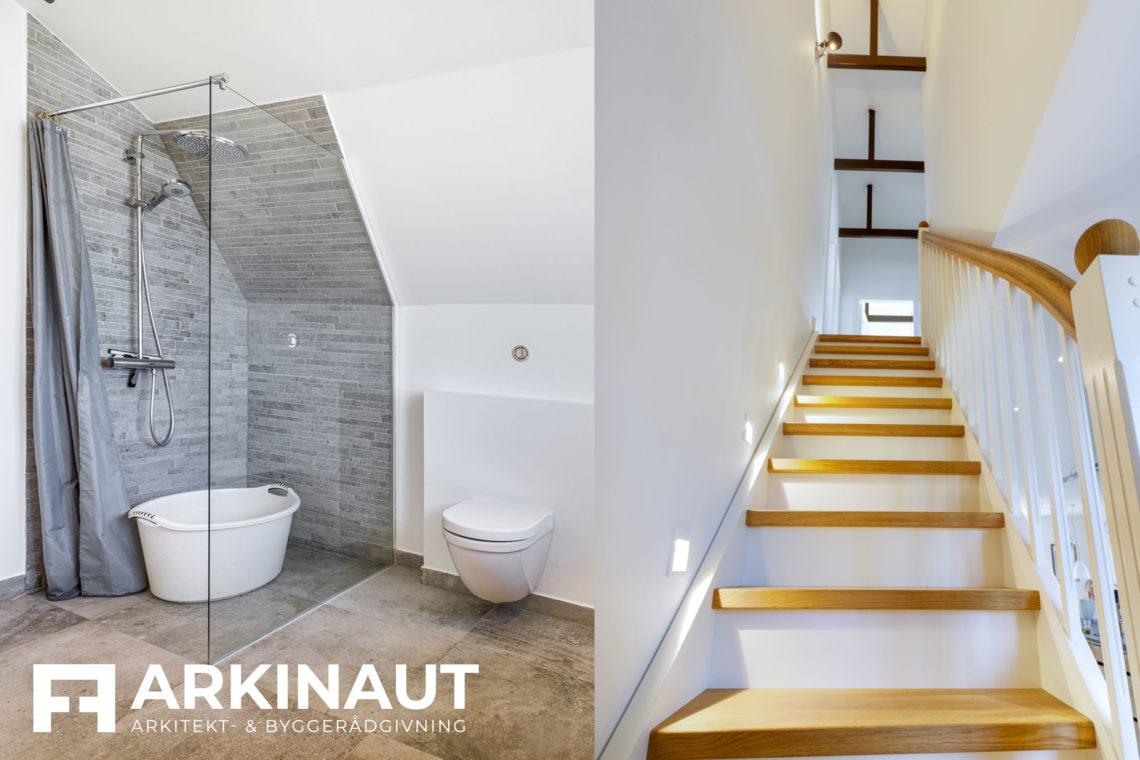 Ny førstesal på bungalow og stilskifte til patriciervilla - Arkinaut Arkitekt- og byggerådgivning ApS 4