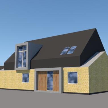 Ny første sal på klassisk parcelhus - ARKINAUT arkitekt- og byggerådgivning aps 1