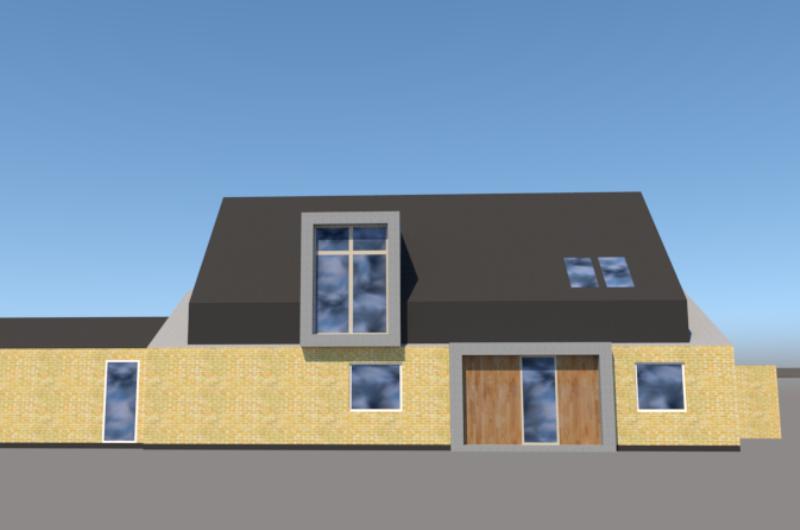 Ny første sal på klassisk parcelhus - ARKINAUT arkitekt- og byggerådgivning aps 2