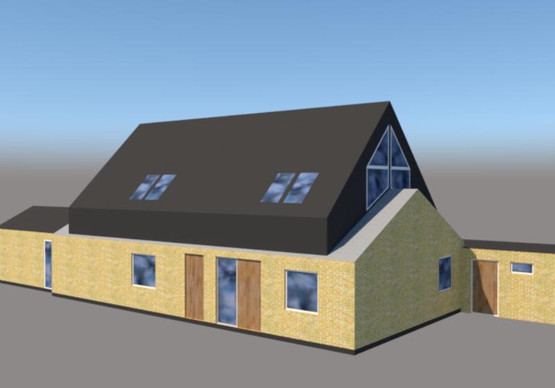 Ny første sal på klassisk parcelhus - ARKINAUT arkitekt- og byggerådgivning aps 3