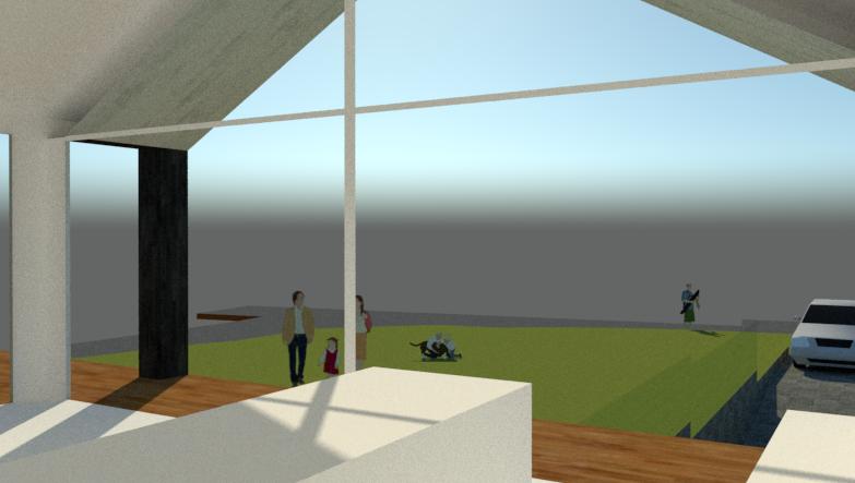 Arkitekttegnet hus på skråning - Arkinaut Arkitekt- og byggerådgivning ApS 4