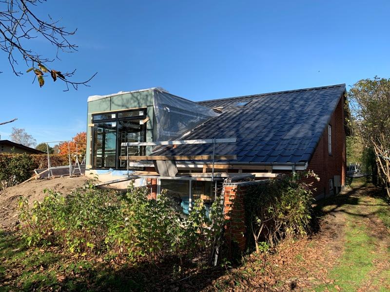 Tilbygning til enfamiliehus - Arkinaut Arkitekt- og byggerådgivning ApS