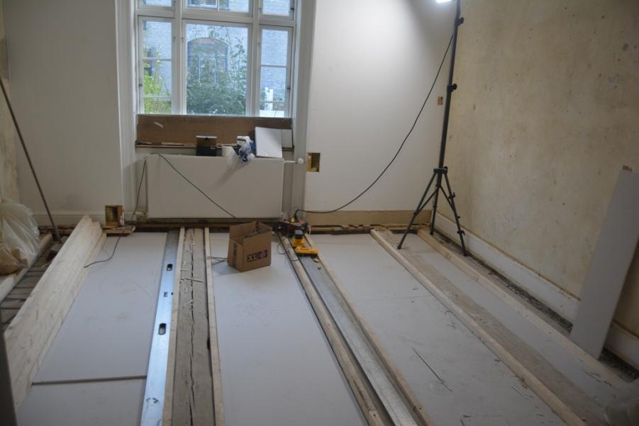 Samnenlægning af lejligheder inkl. renovering - Arkinaut Arkitekt- og byggerådgivning ApS