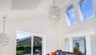Tilbygning med asymmetrisk tag og ovenlys - Arkinaut Arkitekt- og byggerådgivning Aps