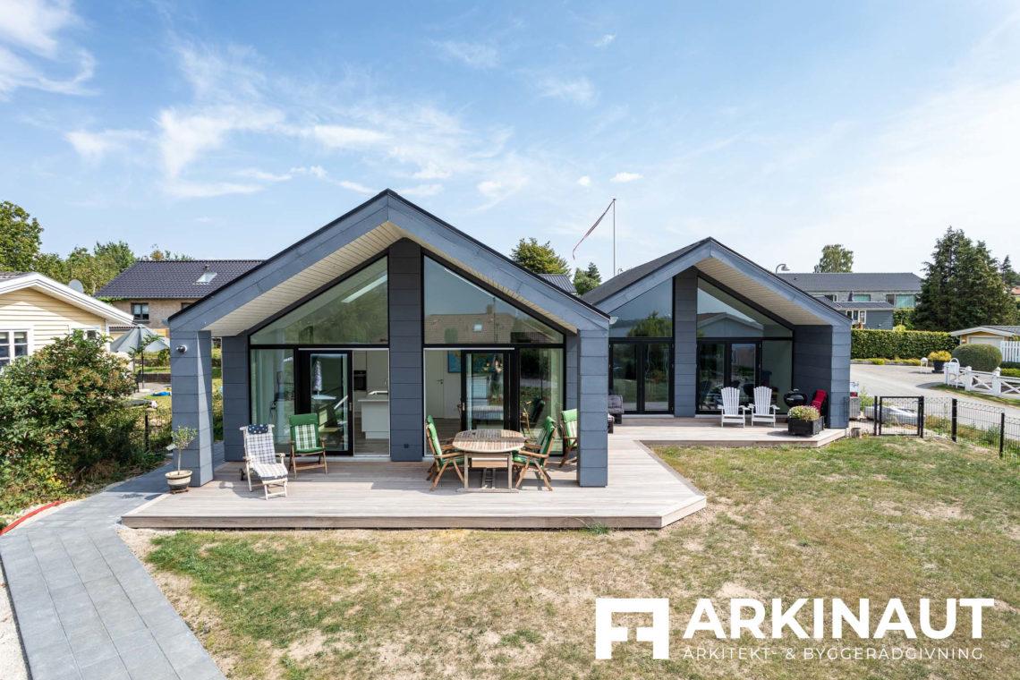 Arkitekttegnet hus med udsigt - Arkinaut Arkitekt- og byggerådgivning ApS