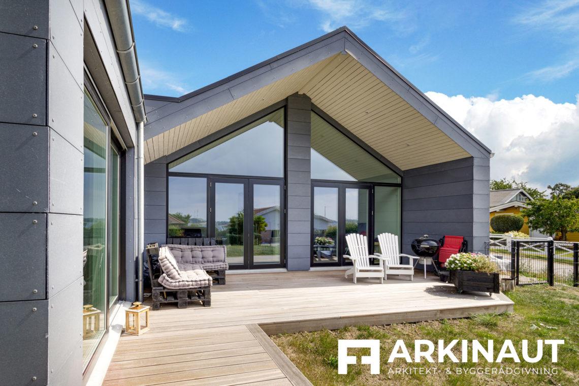 Arkitekttegnet hus med udsigt - Arkinaut Arkitekt- og byggerådgivning ApS 8