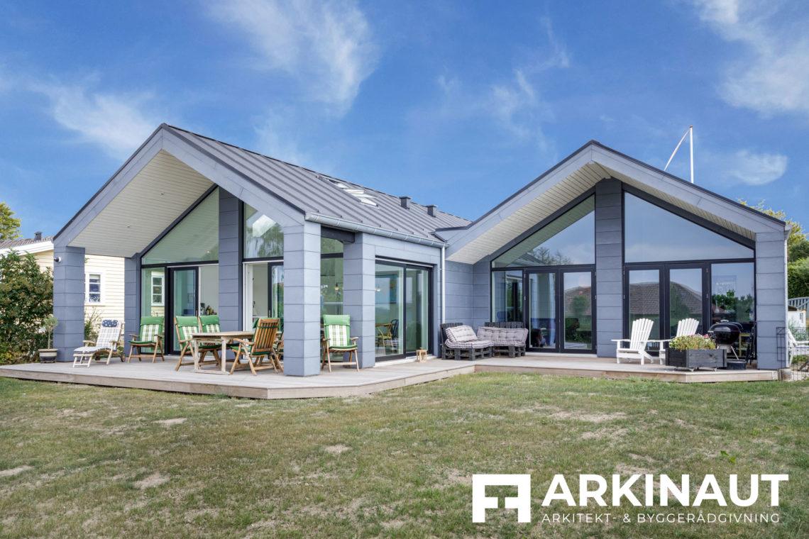 Arkitekttegnet hus med udsigt - Arkinaut Arkitekt- og byggerådgivning ApS 9