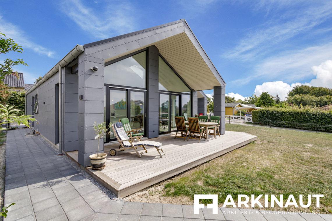 Arkitekttegnet hus med udsigt - Arkinaut Arkitekt- og byggerådgivning ApS 10