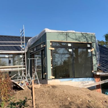 Tilbygning til villa i Roskilde - Arkinaut Arkitekt- og byggerådgivning ApS