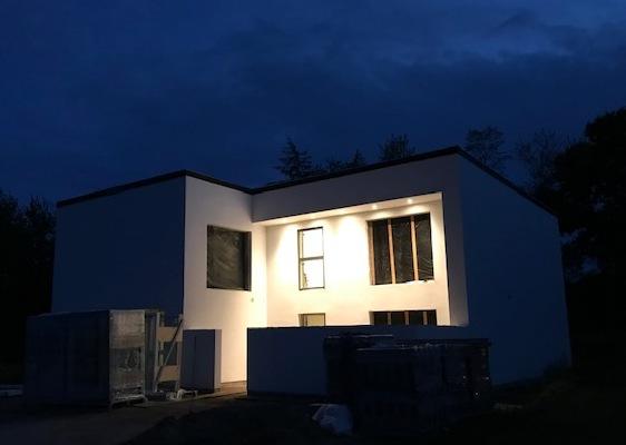 Villa på naturgrund - Arkinaut Arkitekt- og byggerådgivning ApS