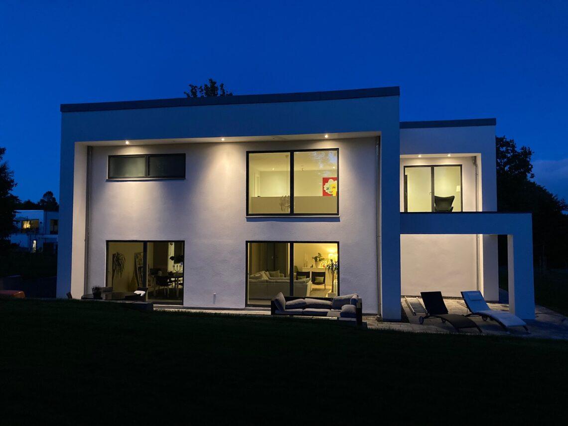 Arkitekttegnet hus med dobbelthøjt rum - Arkinaut Arkitekt- og byggerådgivning ApS 19