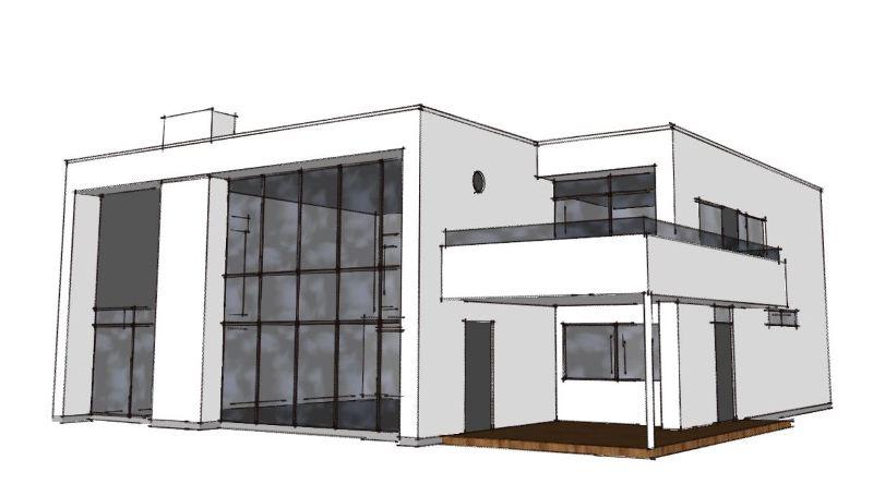 Arkitekttegnet villa på naturgrund - Arkinaut arkitekt- og byggerådgivning aps 2