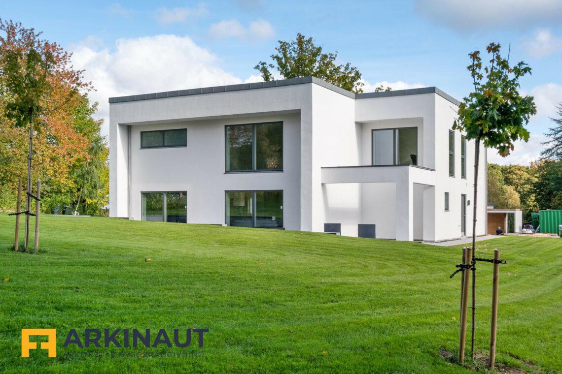 Arkitekttegnet hus med dobbelthøjt rum - Arkinaut Arkitekt- og byggerådgivning ApS 8