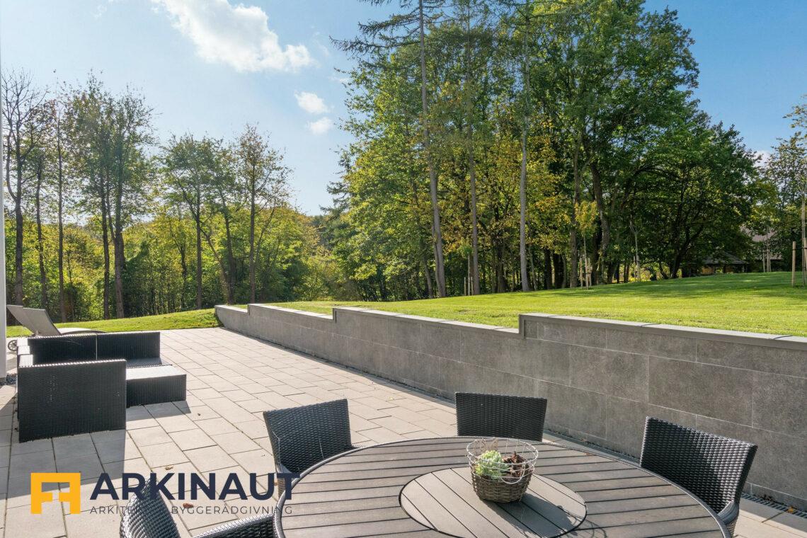 Arkitekttegnet hus med dobbelthøjt rum - Arkinaut Arkitekt- og byggerådgivning ApS 10