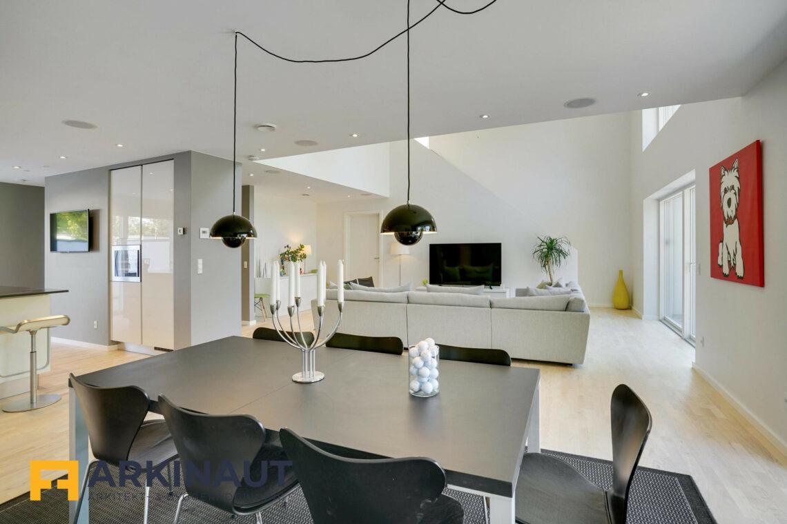 Arkitekttegnet hus med dobbelthøjt rum - Arkinaut Arkitekt- og byggerådgivning ApS 14