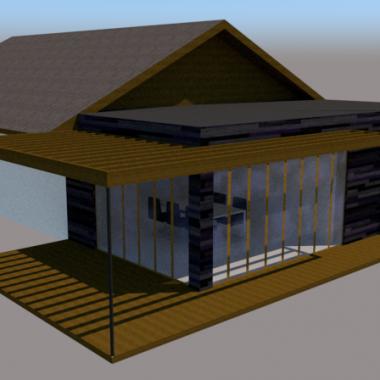 Tilbygning med pergola - Arkinaut Arkitekt- og byggerådgivning Aps 3
