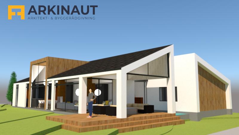 Arkitekttegnet hus - Arkinaut Arkitekt- og byggerådgivning ApS 2