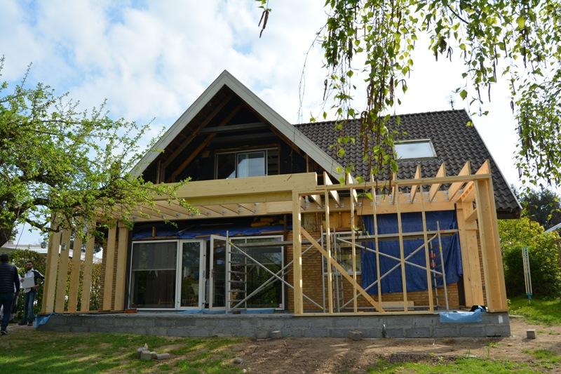 Tilbygning med køkken/alrum - Arkinaut Arkitekt- og byggerådgivning ApS