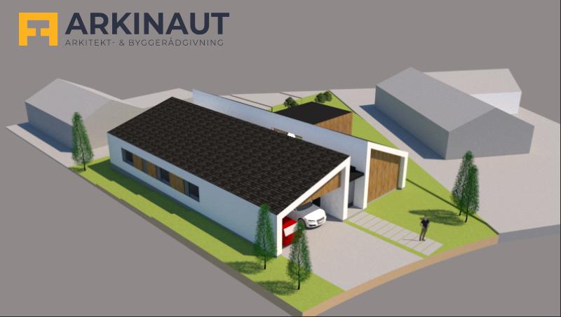 Arkitekttegnet hus - Arkinaut Arkitekt- og byggerådgivning ApS 5