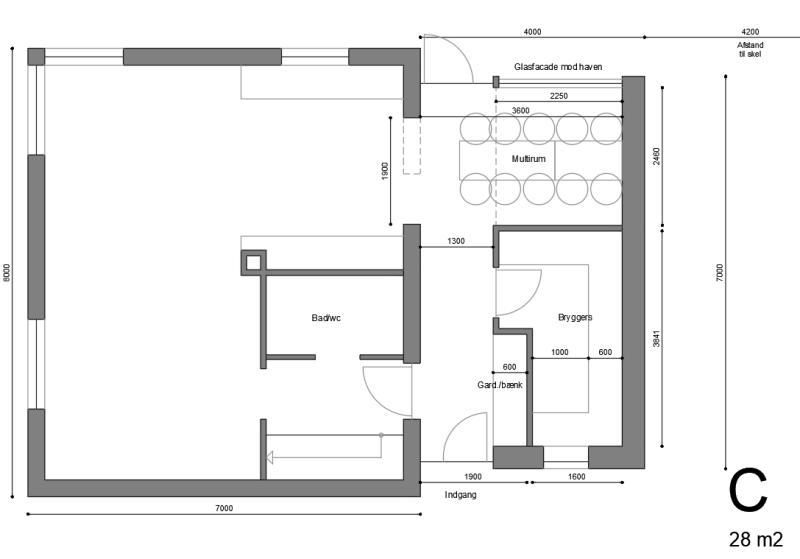 Tilbygning til rødstens villa - Arkinaut Arkitekt- og byggerådgivning ApS 2