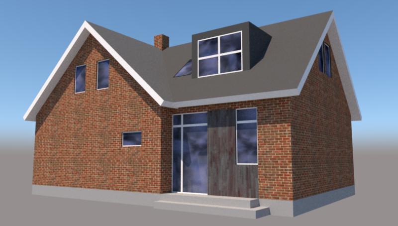 Tilbygning til rødstens villa - Arkinaut Arkitekt- og byggerådgivning ApS 3