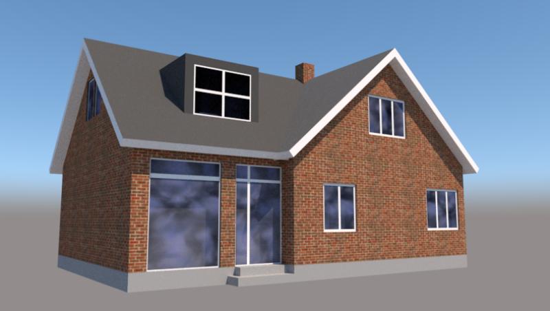 Tilbygning til rødstens villa - Arkinaut Arkitekt- og byggerådgivning ApS 4