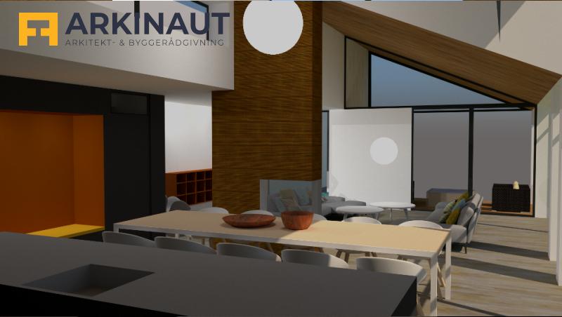 Arkitekttegnet hus - Arkinaut Arkitekt- og byggerådgivning ApS 8
