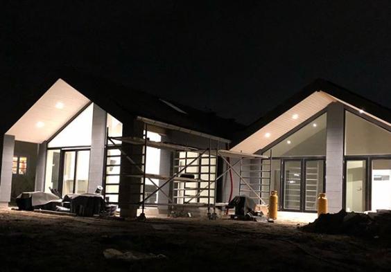 Villa under opførelse - Arkinaut Arkitekt- og byggerådgivning ApS