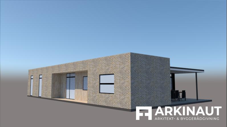 Moderne arkitekttegnet hus - Arkinaut Arkitekt- og byggerådgivning ApS 2