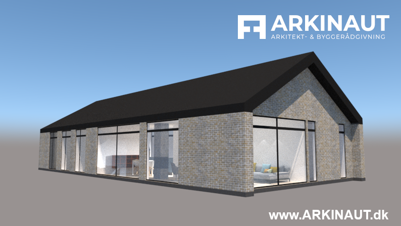 "Arkitekttegnet hus til en ""lav"" pris - Arkinaut Arkitekt- og byggerådgivning ApS"