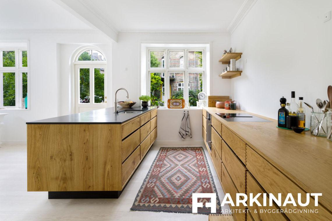Renovering af rækkehus - Arkinaut Arkitekt- og byggerådgivning ApS 6