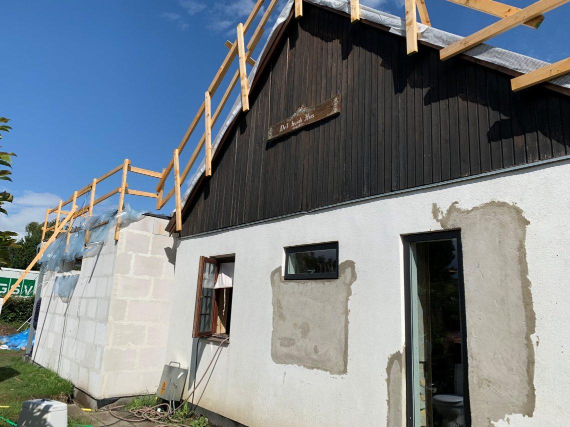 Tilbygning og renovering af eksisterende tag m.v. - Arkinaut Arkitekt- og byggerådgivning ApS
