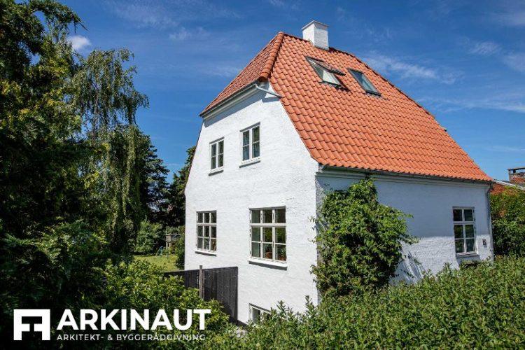 Murermestervilla, tilbygning - Arkinaut Arkitekt- og byggerådgivning ApS