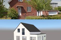 Stilskifte i villa fra 1950'erne - Arkinaut Arkitekt- og byggerådgivning Aps