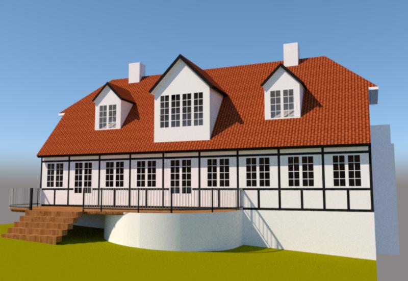 Renovering af ældre bindingsværkshus - Arkinaut Arkitekt- og byggerådgivning Aps 3