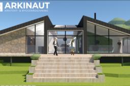 Arkitekttegnet villa med udsigt - Arkinaut Arkitekt- og byggerådgivning ApS 2
