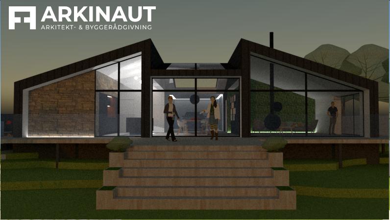 Arkitekttegnet villa med udsigt - Arkinaut Arkitekt- og byggerådgivning ApS 3